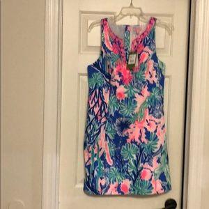 NWT Lilly Pulitzer shift dress size 10
